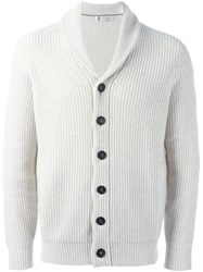 Brunello Cucinelli V Neck Cardigan Nude Neutrals