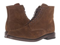 Frye Jones Lace Up Chestnut Oiled Suede Men's Boots Tan