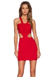 Nbd My Confessions Bodycon Dress Red