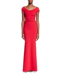 La Petite Robe Di Chiara Boni Renella Off The Shoulder V Neck Mermaid Gown Size 8 Passion