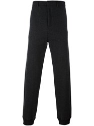 Lanvin Tailored Tapered Trousers Grey
