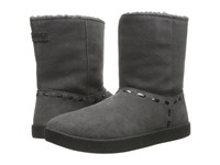 Sanuk Toasty Tails Short Charcoal Women's Pull On Boots Gray