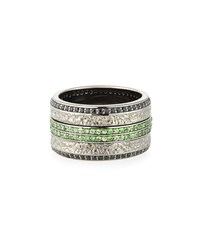 Stephen Webster Men's Sapphire And Tsavorite Ring
