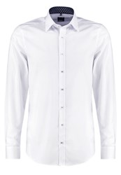 Olymp Level 5 Body Fit Formal Shirt White