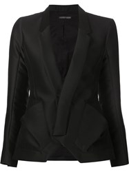 Alexandre Plokhov Fitted Blazer Black