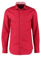 Tommy Hilfiger Tailored Slim Fit Formal Shirt Red