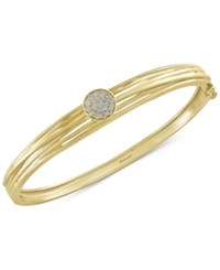 Effy D'oro By Diamond Bangle 1 3 Ct. T.W. In 14K Gold Yellow Gold