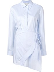 3.1 Phillip Lim Apron Shirt Blue