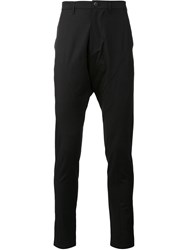 Julius Skinny Trousers Black