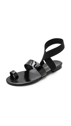 Tamara Mellon Jump Sandals Black
