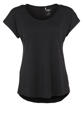Venice Beach Rose Sports Shirt Black