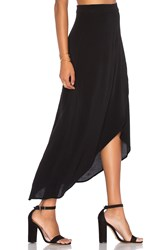 Wayf Veda Wrap Skirt Black