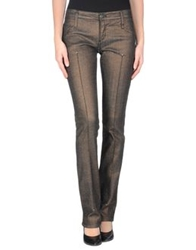 Gianfranco Ferre Gf Ferre' Denim Pants Dark Brown