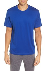 Daniel Buchler Men's Peruvian Pima Cotton T Shirt Royal