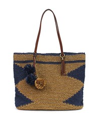 Lucky Brand Cabo Bright Tote Toast Blue