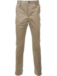 Guild Prime Straight Leg Trousers Brown