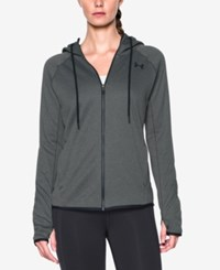 Under Armour Storm Fleece Hoodie Carbon Heather Black