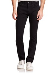 Ag Jeans Nomad Modern Fit Slim Leg Jeans Black Bird