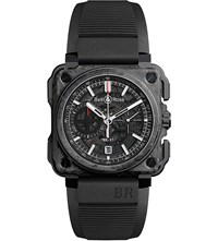 Bell And Ross Brx1cecfblack Carbon Forge Carbon And Titanium Watch