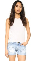 Cotton Citizen The Marbella Tank Silver Stone