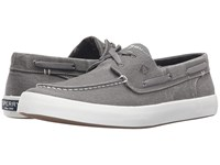 Sperry Wahoo 2 Eye Grey Men's Lace Up Casual Shoes Gray