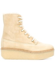 Flamingo's 'Stacy' Boots Nude Neutrals