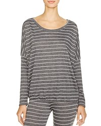 Eberjey Ticking Stripes Slouchy Tee
