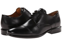 Ecco Cairo Modern Cap Toe Tie Black Men's Lace Up Cap Toe Shoes