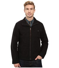 Timberland Mount Davis Timeless Waxed Canvas Jacket Black Men's Coat