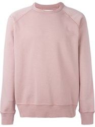 Our Legacy Raglan Sleeve Sweater Pink And Purple