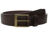 Allen Edmonds Layton Ave Brown Men's Belts