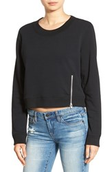 Cheap Monday Women's 'Exact' Zip Hem Sweatshirt