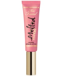 Too Faced Melted Metal Liquified Metallic Lipstick Peony