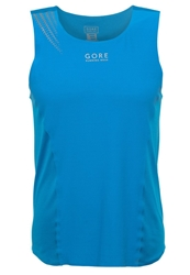 Gore Running Wear Magnitude Top Splash Blue