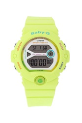 Topshop Casio Baby G Lime Green Watch