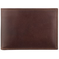 John Lewis Made In Italy Leather Wallet Brown
