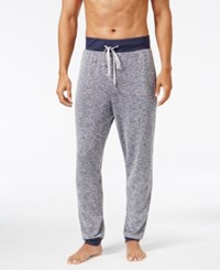 Kenneth Cole Reaction Men's Marled Knit Lounge Pants Navy