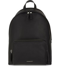 Burberry Abbeydale London Grained Leather Backpack Black