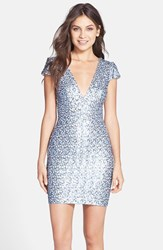 Dress The Population Women's Sequin Body Con