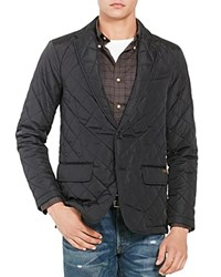 Polo Ralph Lauren Quilted Regular Fit Sport Coat Polo Black