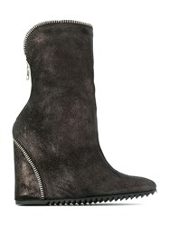 Uma Raquel Davidowicz Wedge Boots Brown