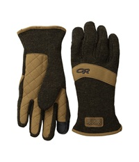 Outdoor Research Exit Sensor Gloves Earth Extreme Cold Weather Gloves Brown