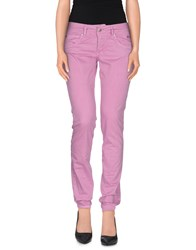 Roy Rogers Roy Roger's Trousers Casual Trousers Women Light Purple