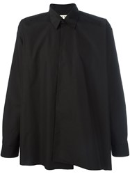 Marni Asymmetric Shirt Black