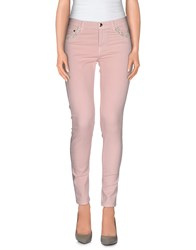 Naughty Dog Trousers Casual Trousers Women Light Pink