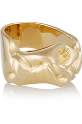 Jennifer Fisher Bow Gold Plated Ring