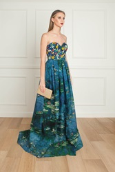 Andrew Gn Embellished Gown