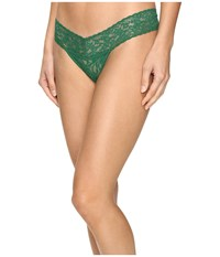 Hanky Panky Signature Lace Low Rise Thong Holly Women's Underwear Red