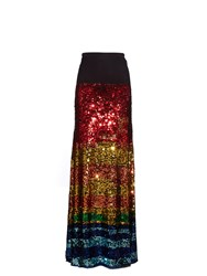 Preen Line Sequinned Maxi Skirt