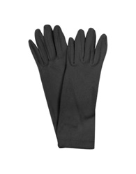 Forzieri Ladies' Solid Stretch Gloves Black